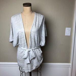 Anthropologie light knit kimono style sweater